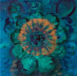 Marie-José schilderij Zichtbaar